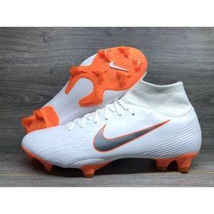 Nike Mercurial Superfly 6 Pro CR7 FG White/Orange